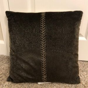 Awesome fur farmhouse pillow
